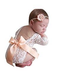 WOCACHI Toddler Baby Girls Skirts, Girls Kids Tutu Party Dance Ballet Baby Bling Costume Skirt+Ears Headband Set