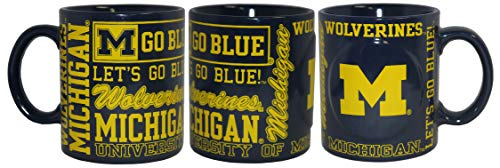 Boelter NCAA Michigan Wolverines 14oz Slogan Mug