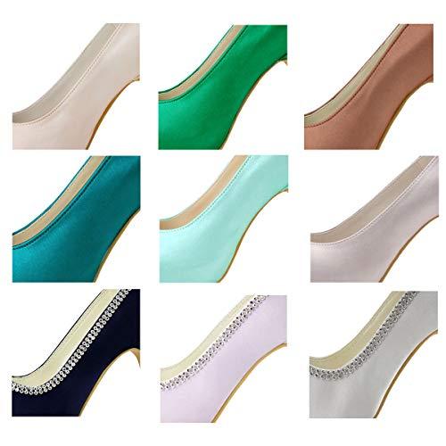 Scarpe Personalizzare da di per da Donna Servizio Sposa ElegantPark Supplemento Personalizzare Colore Tassa Clienti Il w070qR