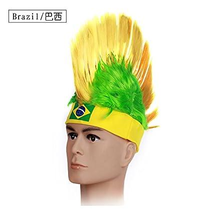 Shi18sport 2018 Recuerdos de los fanáticos Nuevos Sombreros De Copa Mundial  De Fútbol De Cockscomb Tapa ec7d5dc317e