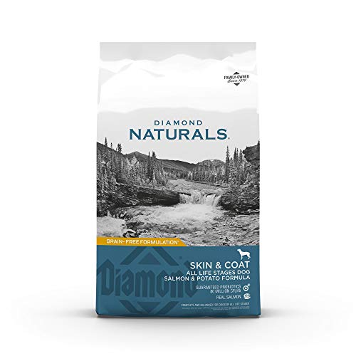 Diamond Naturals Skin & Coat Real Salmon and Potato Recipe Dry Dog Food with Protein, Superfoods, Probiotics and…