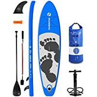 """Two Bare Feet MD ENTRADIA Inflatable SUP PaddleBoard Starter Pack 10'10"""" / 11'6"""", 4&6"""""""