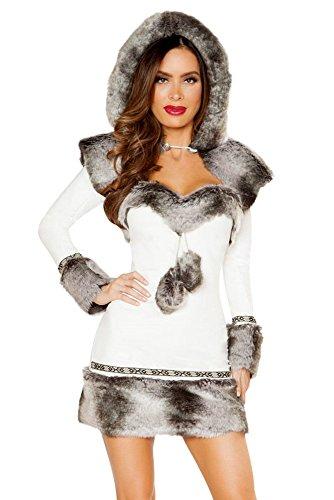 Eskimo Fancy Dress Costume (2pc Eskimo Hottie)