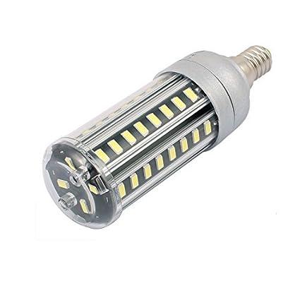 eDealMax AC85-265V 9W x 52 5730SMD E14 del maíz del LED bombilla de la