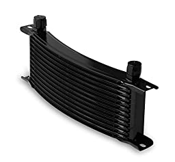 Earl\'s 71308AERL Temp-A-Cure Curved Oil Cooler
