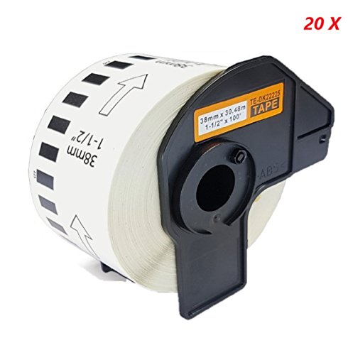 2x Etiketten Rolle für Brother DK11201 P-Touch QL550 QL560 QL560YX QL570 QL560VP