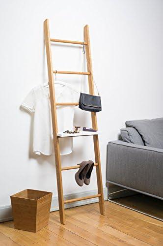 Escalera para ropa, Roble, roble, Höhe: 171 cm Breite: 46,5 cm Tiefe: 5,5 cm: Amazon.es: Hogar
