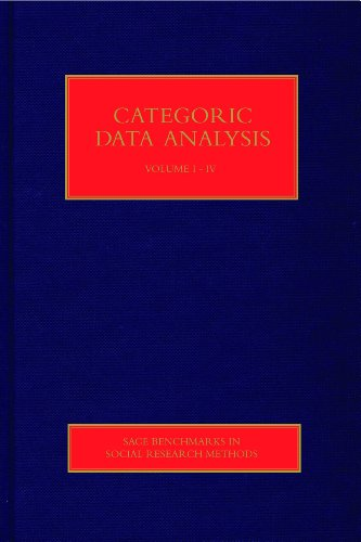 Categorical Data Analysis (SAGE Benchmarks in Social Research Methods)