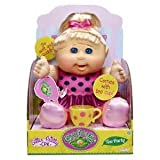 Cabbage Patch Kids Sittin Pretty - TEA PARTY Doll - Blonde Hair, Blue Eyes