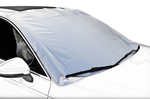 Car Snow Cover,Windshield Snow Cover,Frost Car Windshield Snow Cover,Frost Guard Protector,Ice Cover,Ultra Durable Weatherproof Design,for Most Cars/SUV, NO PAINT SCRATCHING HOOD MAGNETS