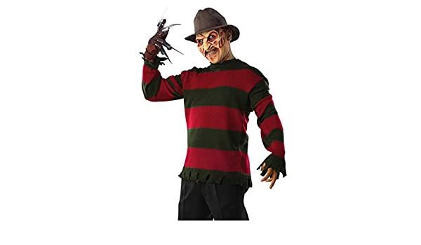 Horror-Shop jersey de Freddy Krueger One Size: Amazon.es ...
