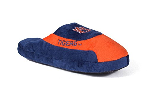 Happy Feet Mens and Womens Officially Licensed NCAA College Low Pro Slippers Auburn Tigers 49qZT