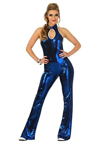 Fun Costumes 70's Disco Fever Jumpsuit Small (Disco Jumpsuits)