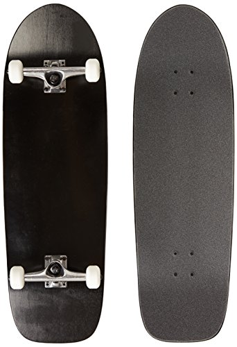 - Moose Old School Complete Skateboard (Black, 10