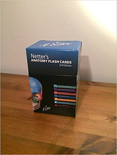 Netters Anatomy Flash Cards With Online Student Consult By John T