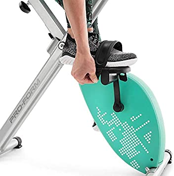 CADENCE. Proform Unisex - Bicicleta estática plegable X-Bike Elite ...