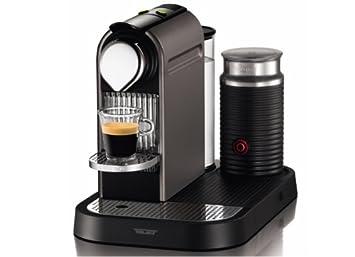 Turmix TX 270 CitiZ & Milk Máquina de café en cápsulas 1L Titanio - Cafetera (