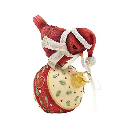 Merry Christmas Heart - Enesco Heart of Christmas Merry Tweetmas Figurine, 2.83