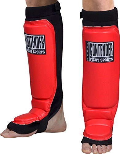 (X-Large, Red) - Contender Fight Sports (X-Large, MMA Grappling Red) Shin - Guards B00SLZLA5U, ラグカーペット店デザインライフ:d7ac87db --- capela.dominiotemporario.com