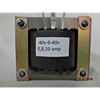 40v-0-40v 8amp with 12v-0-12v 1amp 100% Copper Step Down Transformer.