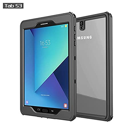 new product 21589 d7cae Galaxy Tab S3 Waterproof Case, iThrough IP68/2M Tab S3 (SM-T820) Case,  Protect Sleek Shock Drop Rain Snow Proof Underwater Cover for Galaxy Tab S3  9.7 ...