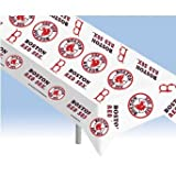 Rico MLB Boston Red Sox Plastic Table Cover