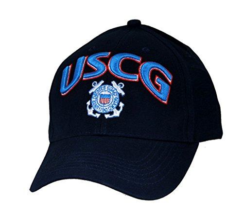 Eagle Crest USCG Cap With Logo. Navy Blue