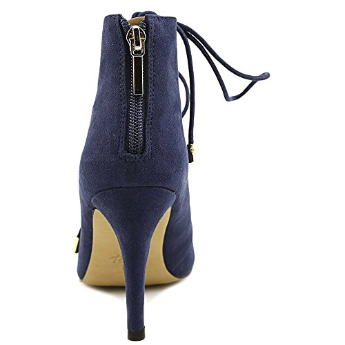 Thalia Sandals Toe Navy Open Sodi Suede Womens Casual Luana Strappy Aqxv1TwA