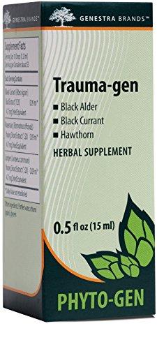 Genestra Brands – Trauma-gen – Black Alder, Black Currant, and Hawthorn Herbal Supplement – 0.5 fl. oz.