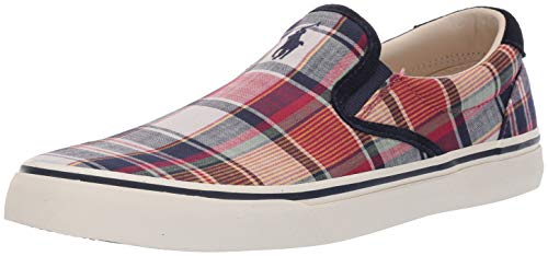 Polo Ralph Lauren Men's Thompson III Sneaker, Multi, 11 D US