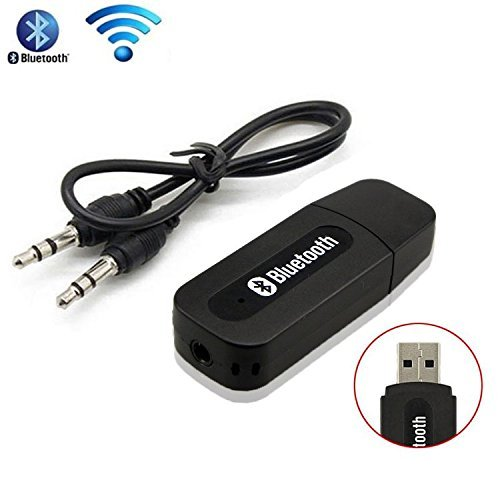Generic Bluetooth Stereo Adapter Audio Receiver 3.5Mm Music