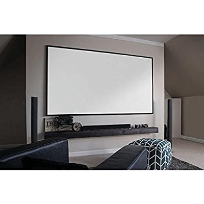 Elite Screens Aeon, 135-inch 16:9, 4K Home Theater Fixed Frame EDGE FREE Borderless Projection Projector Screen, AR135WH2