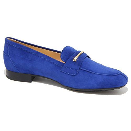 96465 Loafer Tod's Donna Scarpa Shoes Bluette Women Mocassino WPURWqnxO
