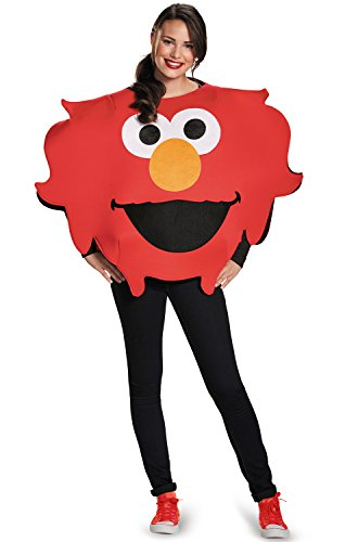 Disguise Elmo Sandwich Board Costume, Red, One Size