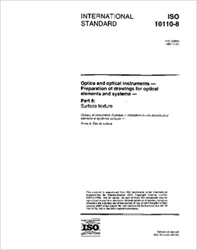 Kostenlose Online-Downloads von Büchern ISO 10110-8:1997