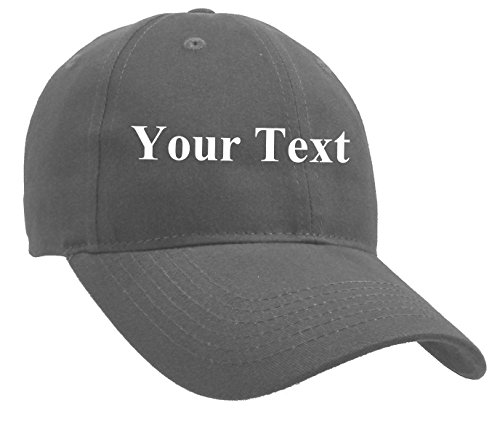 Classic Custom Personalized Adjustable Men's and Women's Cotton Baseball Cap - Personalized Hats