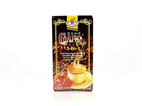 8 boxes GanoCafe 3 in 1 Instant Coffee + FREE sample + by Gano Excel (Image #1)