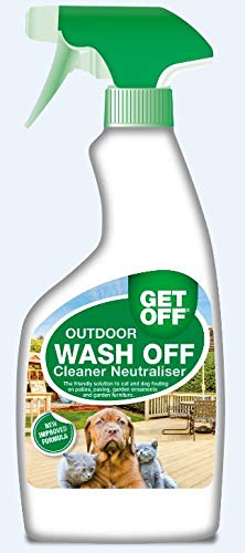 Get Off Rosewood Spray repelente para perros y gatos, 500 ml: Amazon.es: Jardín