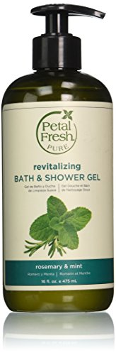 Bio Creative Lab Petal Fresh Bath and Shower Gel, Rosemary and Mint, 16 Ounce