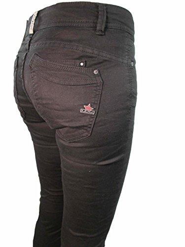 Buena Profondo Altri Jeans Nero Vista Malibu Donna Colori Stretch 6qO6px8rw