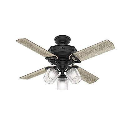Hunter Fan Company 52263 Ceiling Fan, Small, Natural Iron