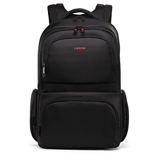 Laptop Backpack Waterproof with Anti-Theft for Man Women(Black)