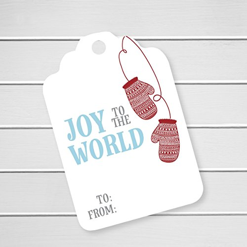 24pk - Joy to the World Christmas Holiday Gift Tags (ST-579) Spice Girls Christmas Card