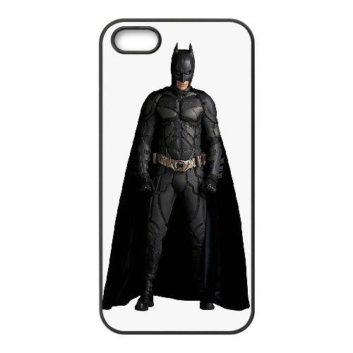 Batman 3 coque iPhone 5 5S Housse téléphone Noir de couverture de cas coque EBDOBCKCO09672