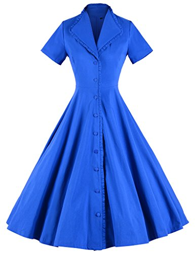 GownTown-Womens-1950s-Elegant-Lapel-Cocktail-Swing-Stretchy-Dresses