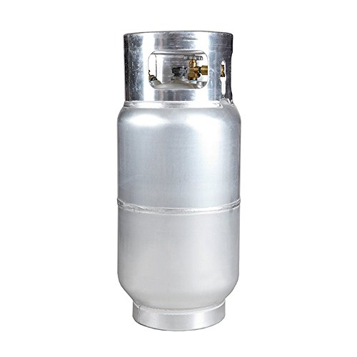 - New 33.5 lb Aluminum Forklift Propane Cylinder With Quick Fill Valve
