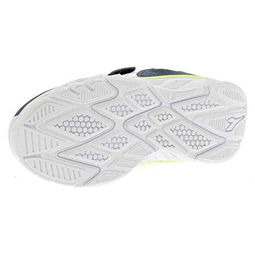 Diadora Hawk 7 Jr, Zapatos para Correr Unisex Niños Blu/bianco