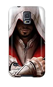 High Grade MichaelTH Flexible Tpu Case For Galaxy S5 - Man With Blades