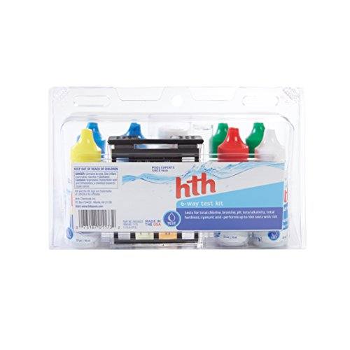 - hth Pool Test Kit 6-Way Test Kit (1173)