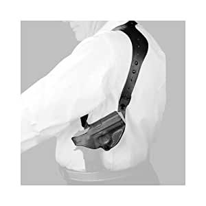 Desantis C.E.O. Shoulder Rig Holster fits S&W M&P Shield 9/40, Right Hand, Black